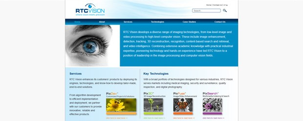 RTC Vision approached Afri-can Graphics and Web with an urgent need for a Rebrand and a new