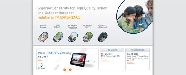 Siano, a leading developer of silicon receiver chips for the mobile market, recently approached Afi-canweb to re-design and update their static HTML website to a […]